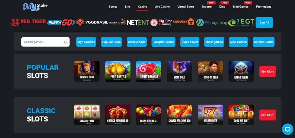 Mystake casino slots