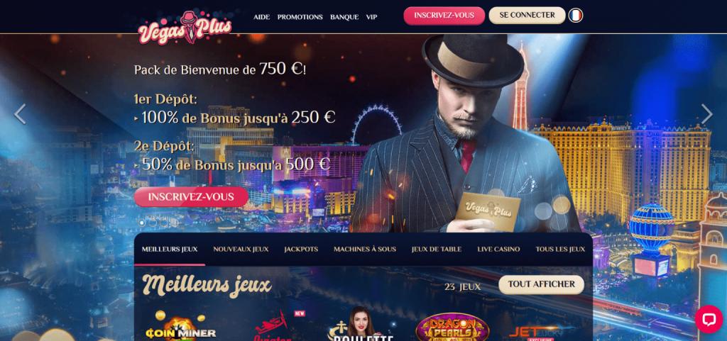 Vegas plus casino bonus
