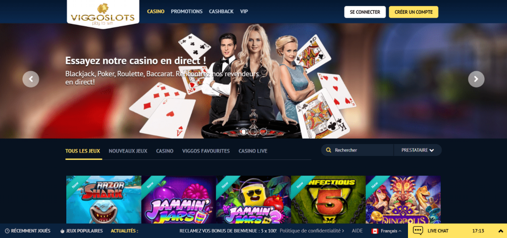 Viggoslots casino bonus gratuit