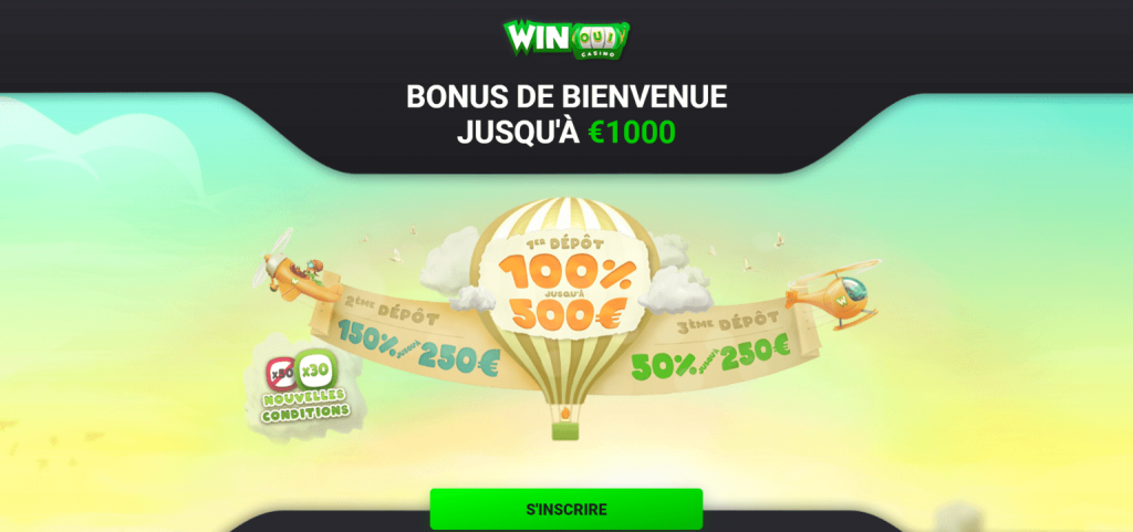 Winoui Casino Bonus